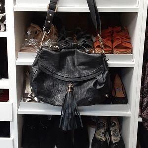 CC Skye black leather handbag
